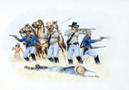 U.S. Cavalry Firefight